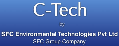 C-Tech by SFC Environmental Technologies Pvt. Ltd., A Group of SFC Company: Advanced Sewage Treatment Plants for Waste Water Treatment and BOD Removal located in India